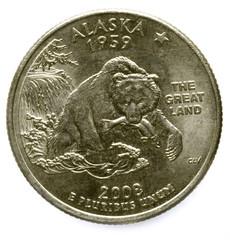 Alaska State Quarters 1959 2008