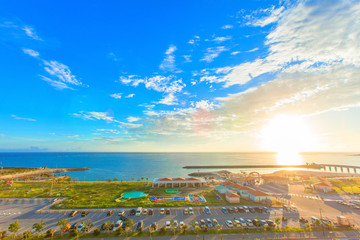 Resort  beach of Okinawa