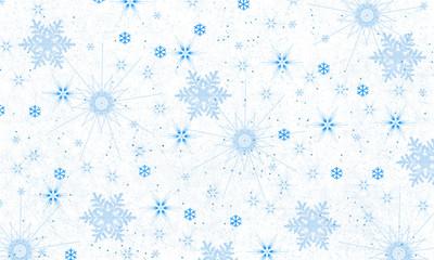 Snowflake background-illustration
