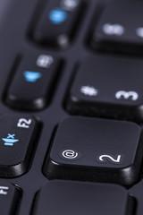 Wireles computer keyboard