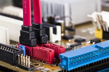 Motherboard SATA socket