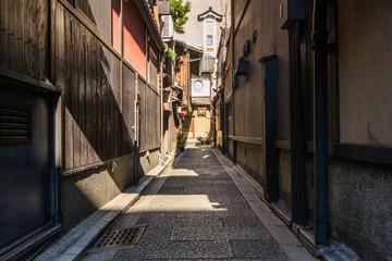 京都 花見小路の路地