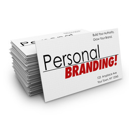 Personal Branding Business Cards Advertise Services Company