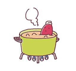 サツマイモ風呂