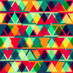 vintage triangle seamless texture