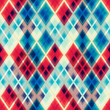 crystal mosaic seamless pattern