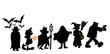 Leinwanddruck Bild - halloween walk