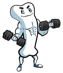 Bone Mascot