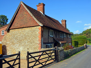 Traditional Hascombe Farm House in Surrey, UK.