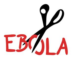 Cut ebola