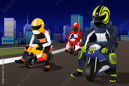 People riding motorcycle - 72287063