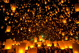 Fototapety Flying Lantern