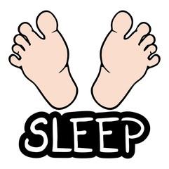 Sleep foot