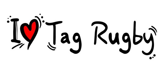 Tag rugby love