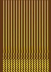Ramen Noodles Abstract Vector Background