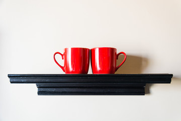 couple red cup