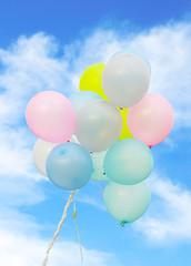 balloon and sky