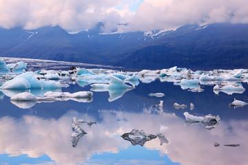 The blue lagoon Ice Yёkyulsaurloun