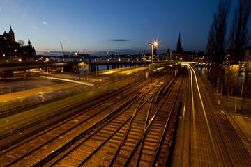 sweedish train station