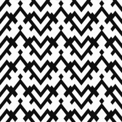 monochrome heart seamless pattern