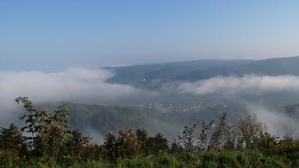 Morgen im Mittelrheintal