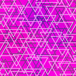 purple color triangle seamless pattern