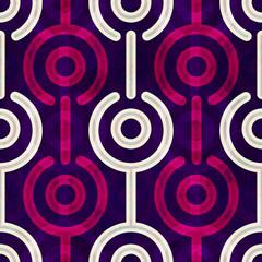 puple circle seamless pattern
