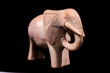 Marble Handmade Statue of an Elephant