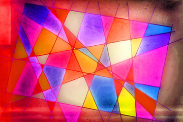 retrostyle - colorful background texture