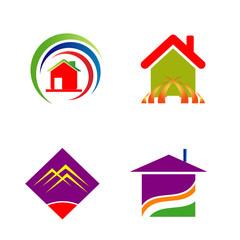 Set of logo for construction company