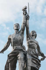 Monument in Moscow