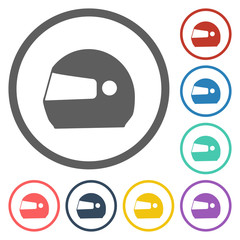 motorcycle helmets icon