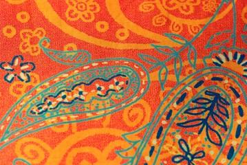 Stoff mit orientalischem Muster