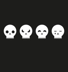 skulls expressions