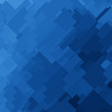 Fototapety Blue Square Abstract Background