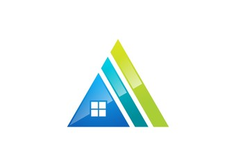 house,logo,real estate,home,company,corporate,business,finance