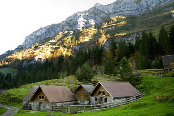 Almhütten im Alpstein - Schweiz