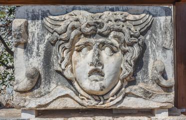 head of Gorgon Medusa