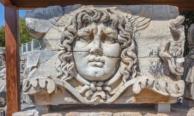 Gorgon Medusa head