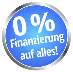 0 % Finanzierung auf alles