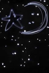 Sternenhimmel Lichtmalerei