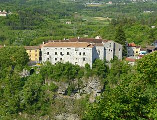 Castle Montecuccoli of old Pazin, Istria, Croatia