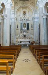 Church of Incoronata. Minervino Murge. Puglia. Italy.