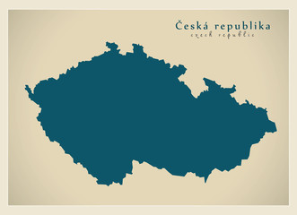 Modern Map - Ceska republika CZ