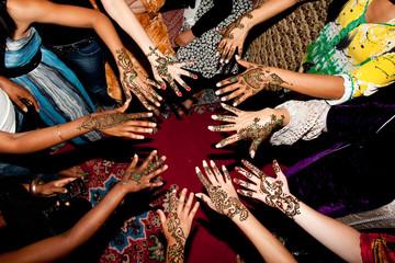 Mains et cérémonie du henné