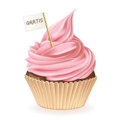 Gratis Cupcake