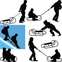sled vector