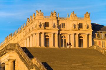 Château de Versailles vu de l'orangerie