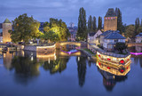 Evening view on Pont Couverts from Vauban dam - 72308642