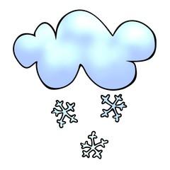 snow BW